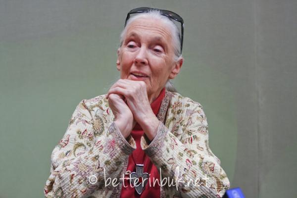 Jane Goodall April 2012