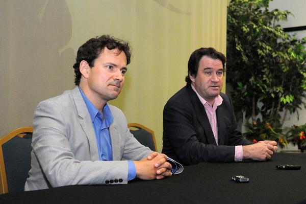 Chimpanzee Directors Alastair Fothergill & Mark Linfield