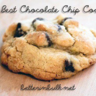 The Best Chocolate Chip Cookie #Recipe