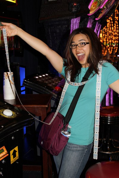 Dave and Buster's YesVideo blogger trip