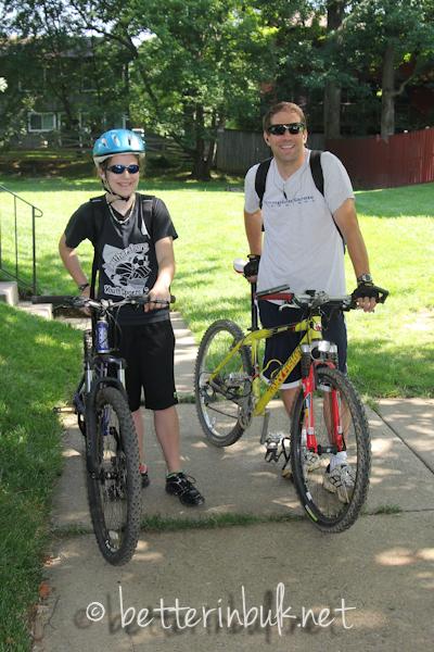 My biking family