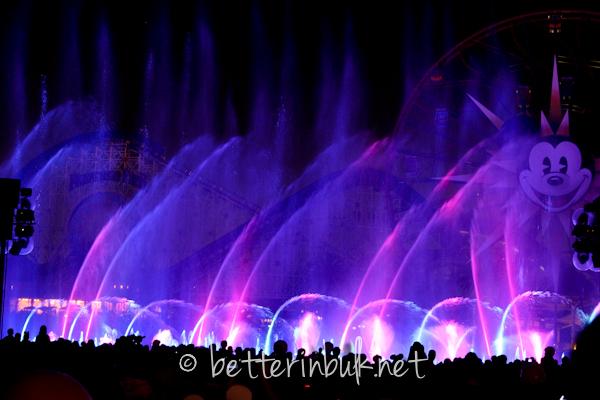 Disneyland California Adventure World of Color show