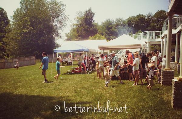 big BBQ party