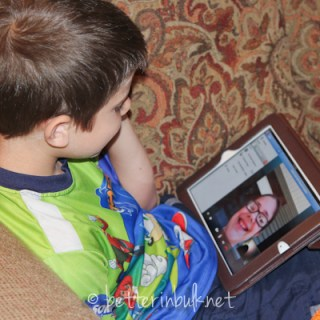 skype with family member out of state