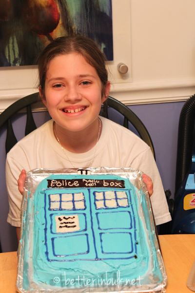 13th birthday Dr. Who Cake