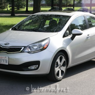 Kia Rio Small-Size Sedan – A Mom's Review