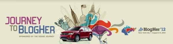 Dodge Journey to BlogHer
