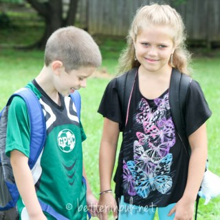 Back to School 2012 – Wordless Wednesday #Linky