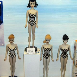 1959 Barbie dolls