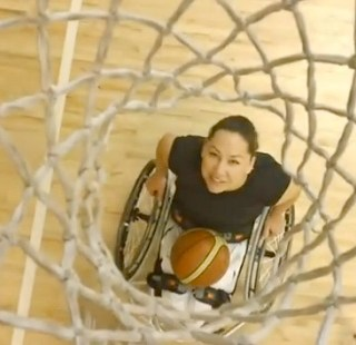 Wheelchair basketball player, Alana Nichols