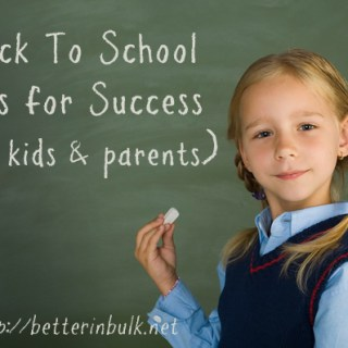 Back to school Tips - dos and don'ts for parents and students