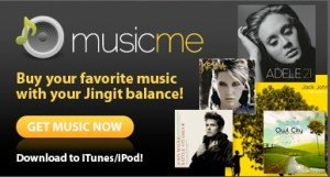 music-me - spend your Jingit cash on music