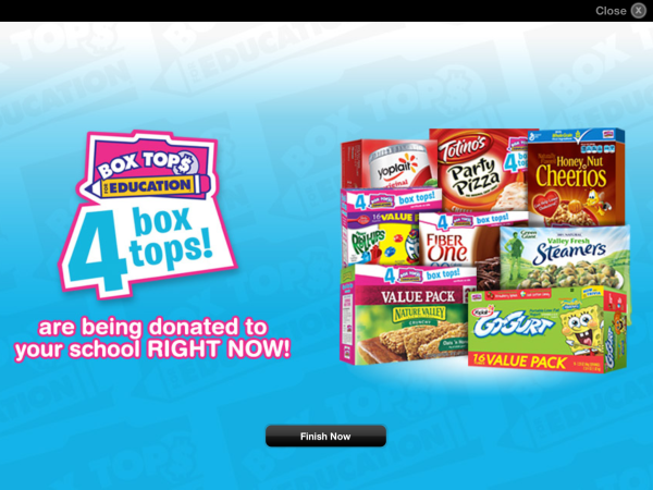 earn extra Box Tops 4 Education with Jingit