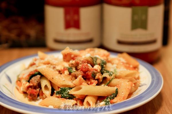 Rose Romano's Sausage and Pepper pasta recipe