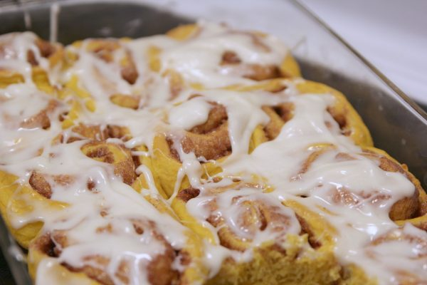 Pumpkin Cinnamon Rolls from Better in Bulk