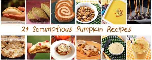 24 pumpkin recipes