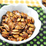 Fiery Sriracha Roasted Pumpkin Seeds