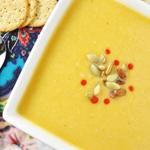 Garlicky Butternut Squash Pumpkin Soup