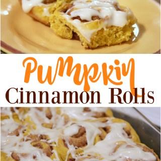 Pumpkin Cinnamon Rolls from Better in Bulk