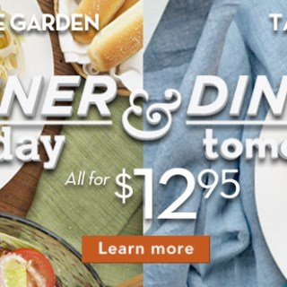 Olive Garden dinner-today-dinner-tomorrow