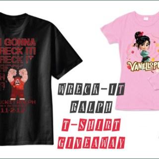 wreck-it-ralph t-shirt giveaway