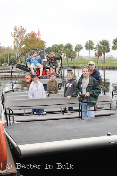 Boggy Creek Airboat rides Kissimmee, Florida