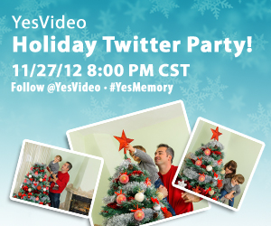 YesVideo Holiday Twitter Party