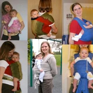 ebay Mom and Roo wraps