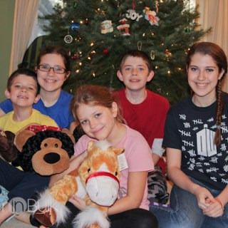The 2012 Christmas Morning Photo – Wordless Wednesday