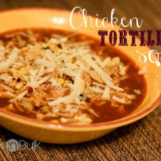 Chicken Tortilla Soup (My Husband's New Favorite Recipe!)