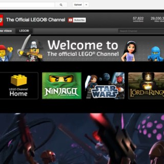 LEGO® YouTube home