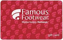 $100 Famous Footwear Giveaway!