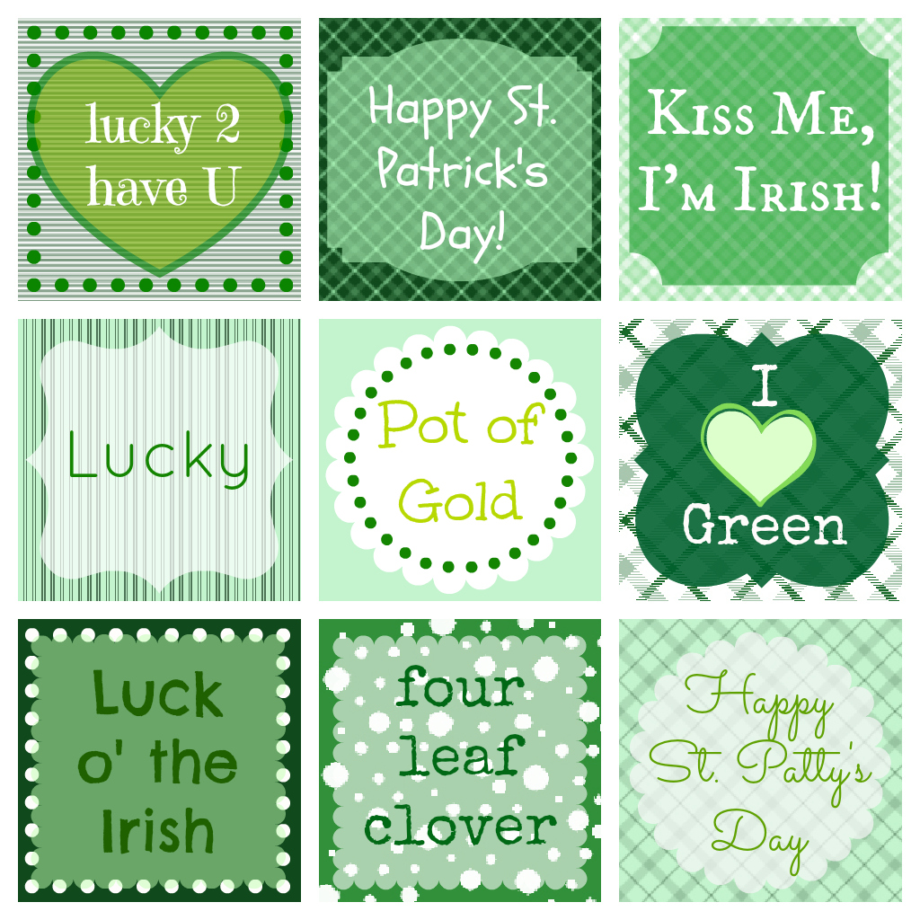 Free St Patrick S Day Printables
