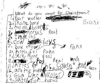 Wish list & Queen Mommy