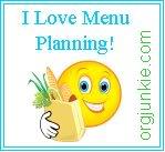 Menu Plan Monday 3/2