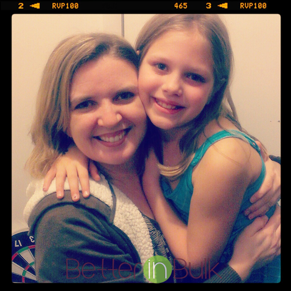 Reese and mom on 10th birthday