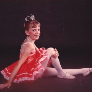 Lolli in ballet poppy costume hidden talent