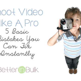 shoot video like a pro