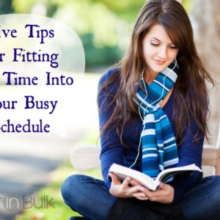 5 Tips for Fitting ME Time into your busy schedule