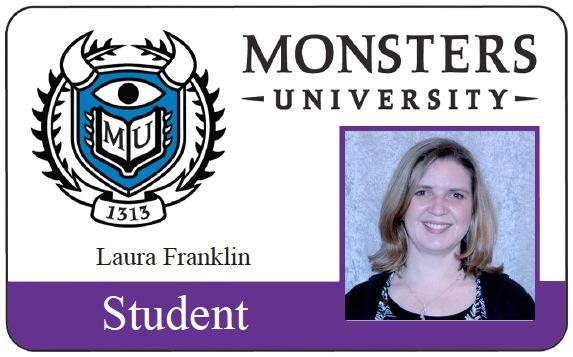 Laura Franklin Monsters University ID
