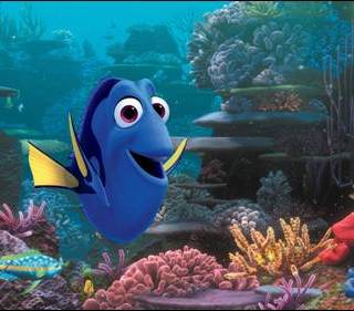 finding dory - finding nemo sequel from Disney Pixar