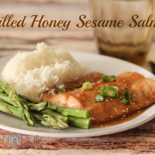 Grilled Honey Sesame Salmon