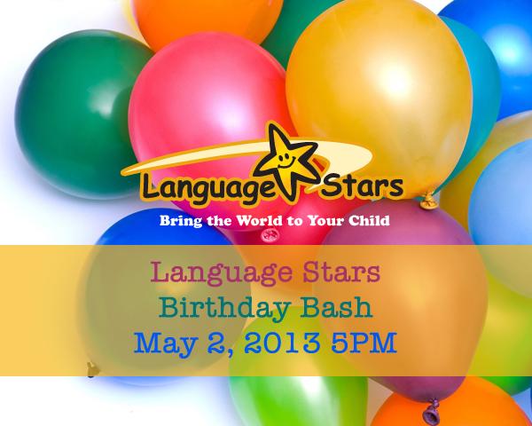 language stars birthday bash