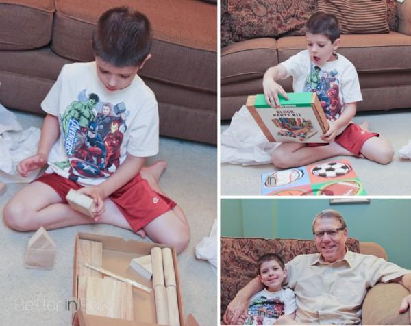 AJs wooden blocks