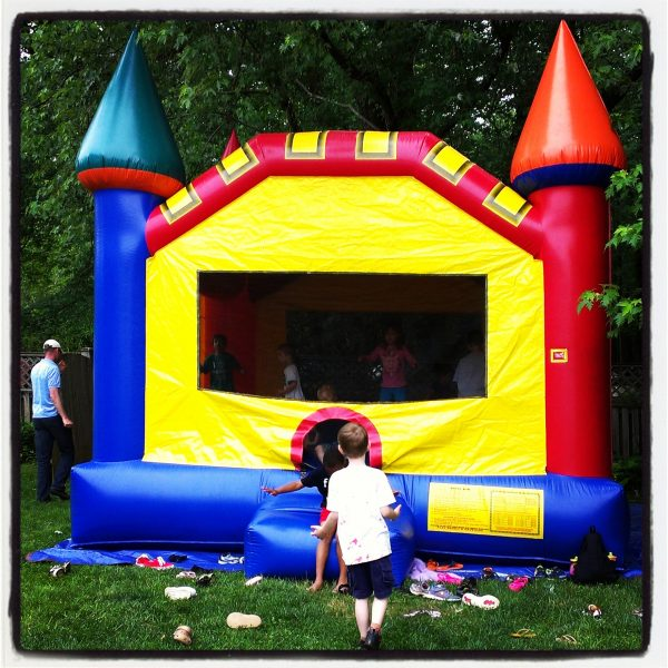 Memorial Day #HebrewNational #99SummerDays bounce house