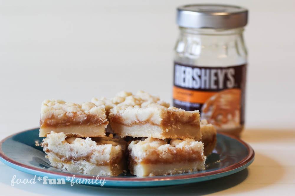 Sea Salt Caramel Bars Recipe from Food Fun Family-3