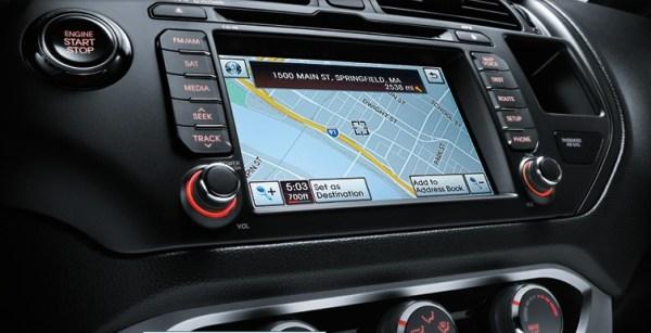 kia-rio-5 door navigation