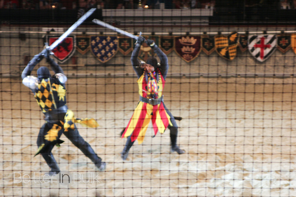 Medieval Times Dinner and Tournament is basically the greatest place on earth. It's dinner theater (how much of this luxury even exists anymore?), with medieval-style games, including jousts, swordfights, horse dancing, and more.