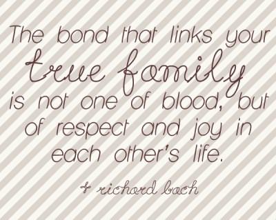 true family quote