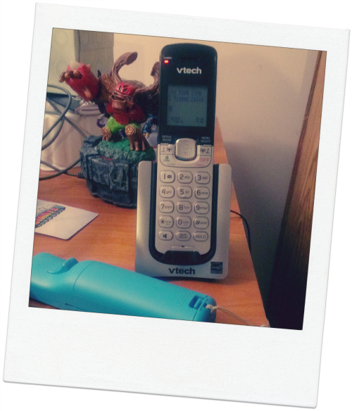 Our VTech phone